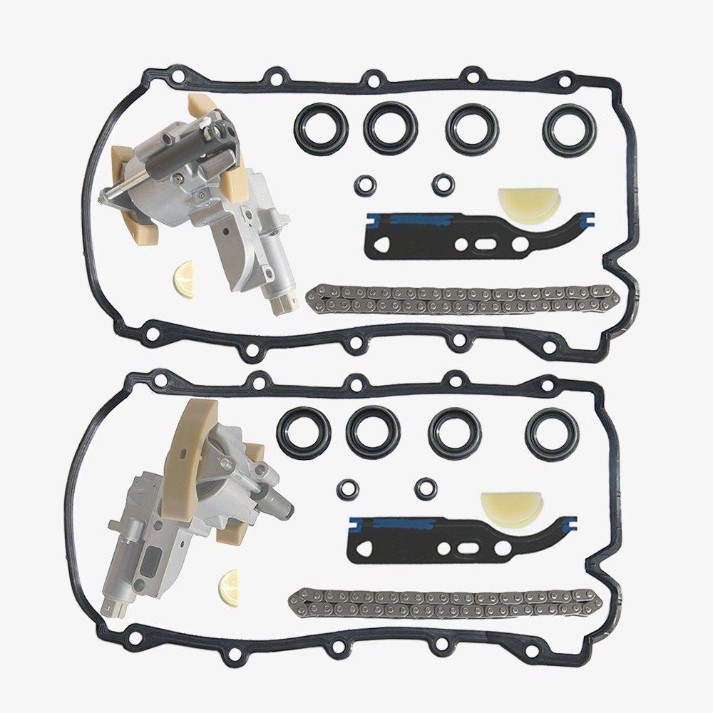 Timing Chain Tensioner Full Kit For 4.2 V8 Engine 077109088/077109087 AKWH