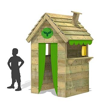 fatmoose casa de juegos para nios beetlebox bling xxl casa de jardn de madera de alta