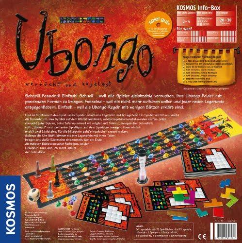 Kosmos - Juego de mesa, de 2 a 4 jugadores (696184) (importado): Amazon.es: Electrónica