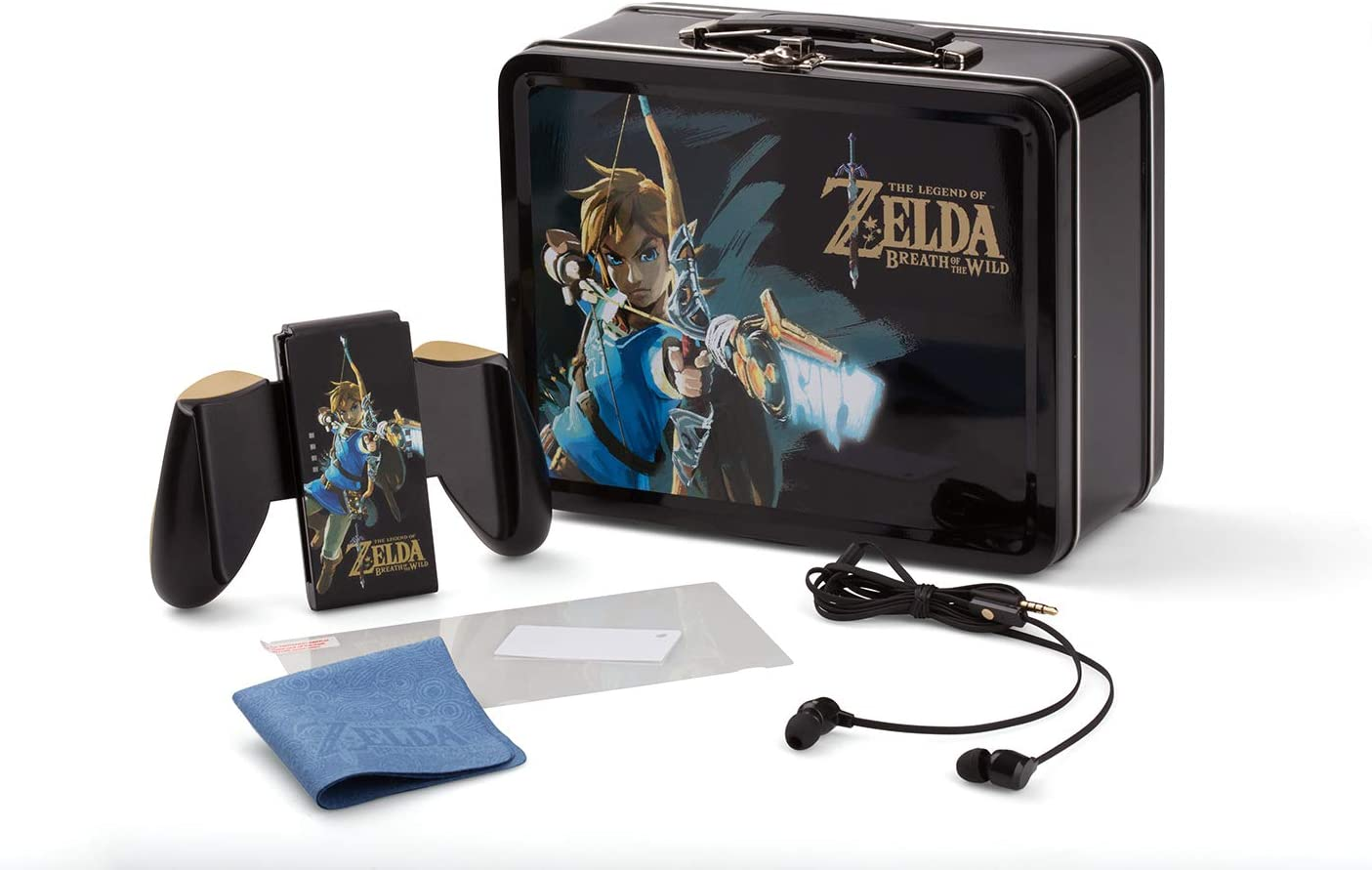 Power A - Lunch Box Tin Kit + Zelda: BOTW GS Design (Nintendo ...