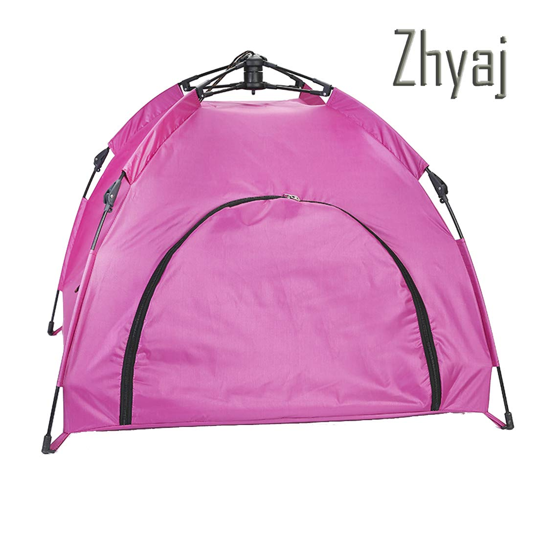 B Zhyaj Dog Kennel Outdoor, Foldable Tent Nest Waterproof Breathable Stable Durable Dog Bed Easy To Clean And Easy To Carry Large Dog House,B