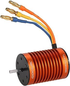 Splashproof ESC Electronic Speed Controller for 1//10 1 10 RC Car WLtoys 10428