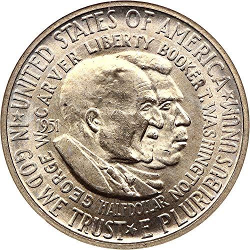 1951 D Silver Commemoratives Washington-Carver Half Dollar MS64 NGC ()