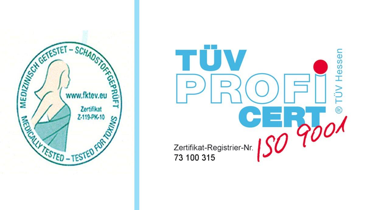Wolkenkind® Wolkenkind® Wolkenkind® Premium Tergo-Vital Komfortschaum Matratzenauflage 120 x 200 x 5cm weiß, Made in Germany, Topper für Boxspringbetten geeignet 1f9bfb