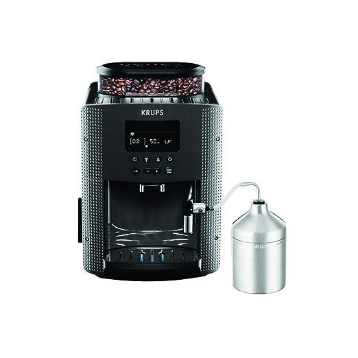 Krups Pisa EA816B - Cafetera automática, color negro: Amazon ...