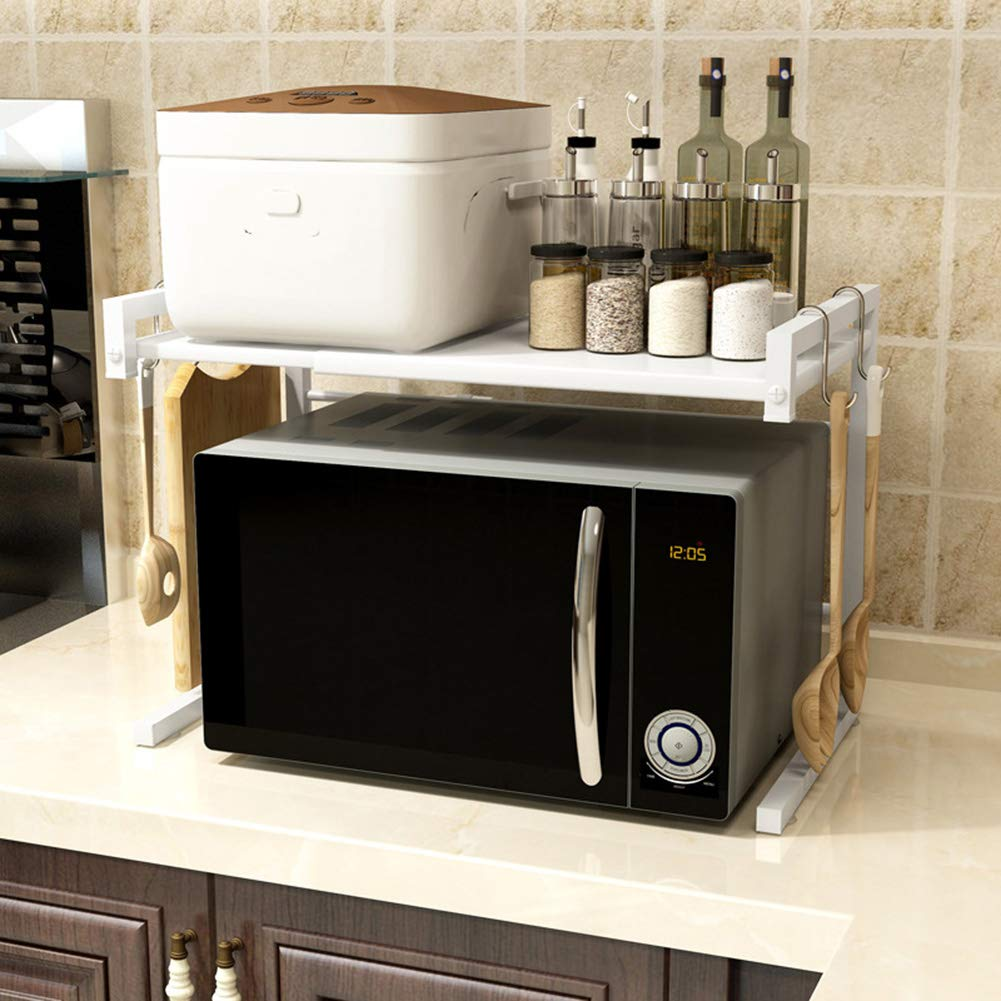 Amazon.com: Estante para horno de microondas, estante de ...