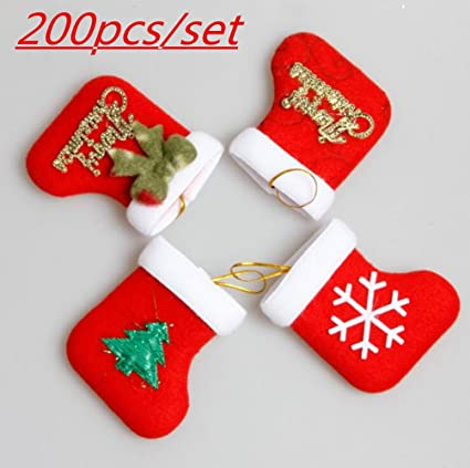mix wholesale vintage bulk mini personalized christmas socks for hang on tree ornaments home decorations for - Wholesale Vintage Christmas Decorations