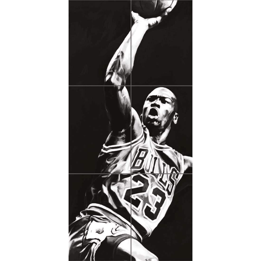 Amazon.com: Michael Jordan Baloncesto Legend Póster de Star ...