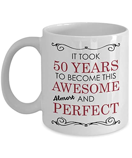 50th Birthday Gift Mug