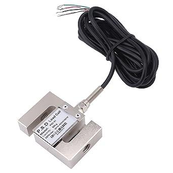S Tipo de alta precisión de carga Cell báscula sensor de peso con cable (50
