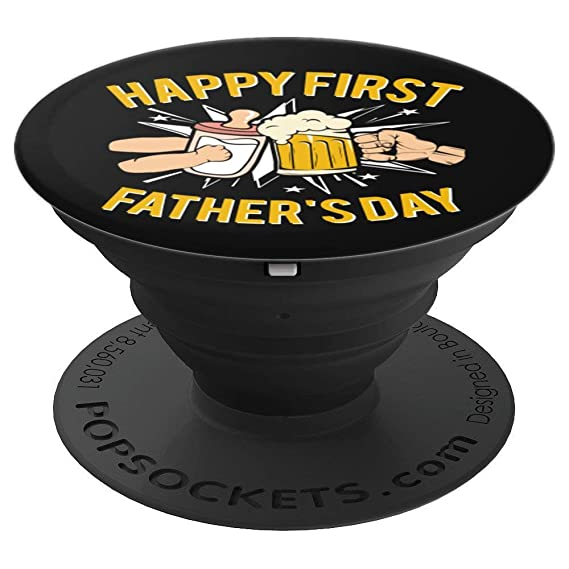 Happy First Fathers Day Grip Perfect Dad Birthday Gifts