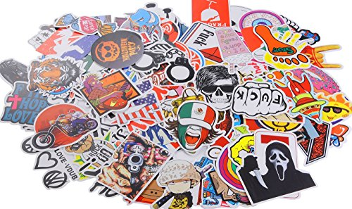 Best Price! Car Stickers Pack 150 Pieces Xpassion Motorcycle Bicycle Skateboard Laptop Luggage Vinyl...