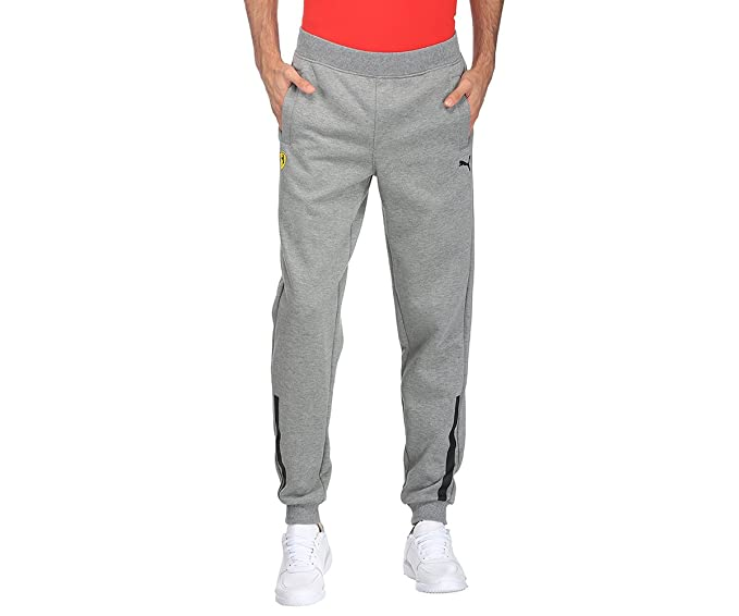 99d4a12d2528 Puma Men s Cotton Track Pants (76224403 Medium Grey Heather X-Large)