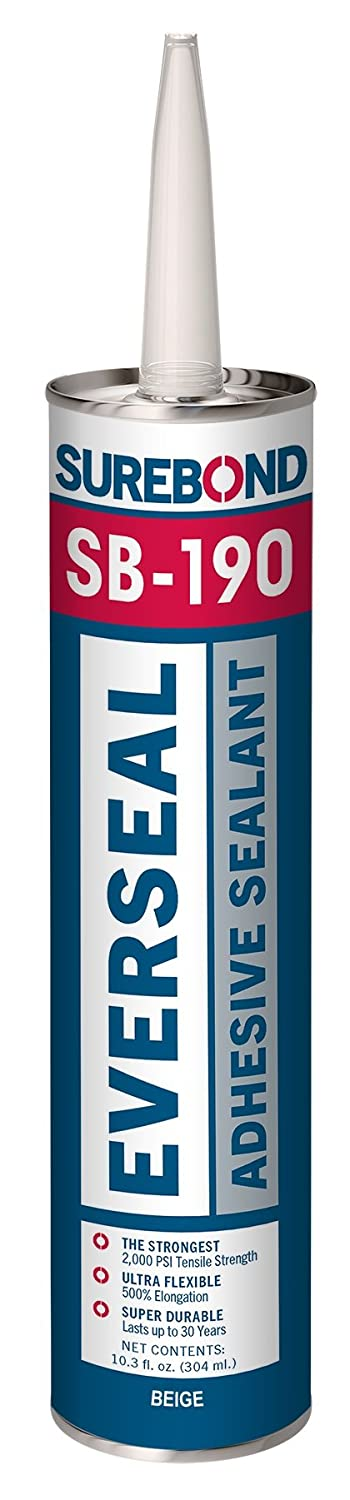 Ever Seal, 10.3 fl. oz. Cartridge SUREBOND SB-190 T BEIGE