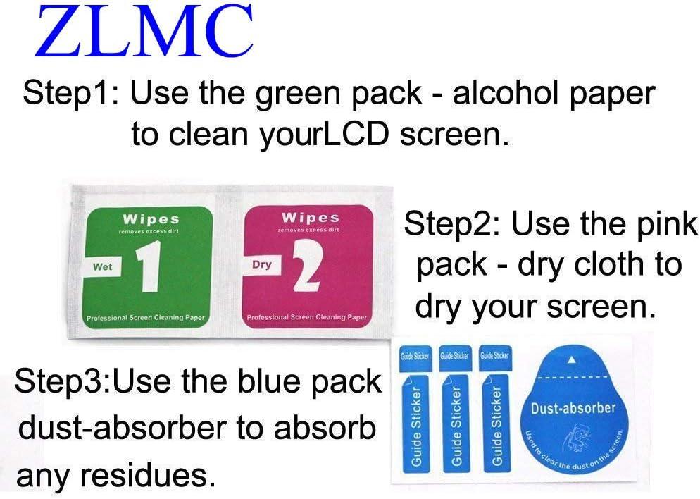 Premium Protective Cover flim Scratch Resistant 3 Pack ZLMC Screen Protector Compatible for Fujifilm XF10 Fuji Film X-T30 X-T20 X-T10 Camera