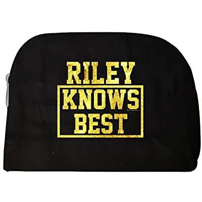 27fc564daa9e new Riley Knows Best. Cool Gift Idea For Friends - Cosmetic Case ...