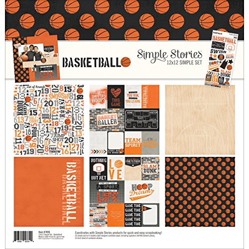 Simple Stories 7855 Basketball 12