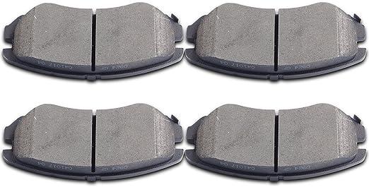Front Brake Pad Set For 16-19 Hyundai Kia Elantra Tucson Sportage GAS WC73Q4