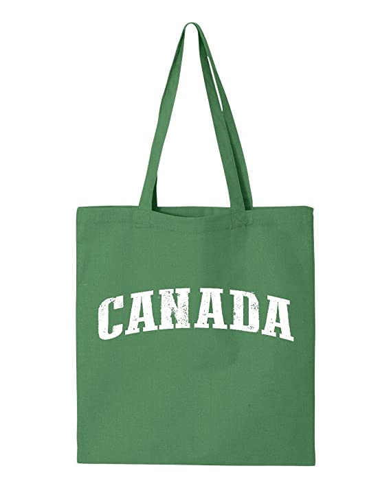 Amazon.com: Ugo What To Do in Canada Vancouver Niagara Falls Travel Deals Canadian Map Tote Handbags Bags Work School Travel: Clothing