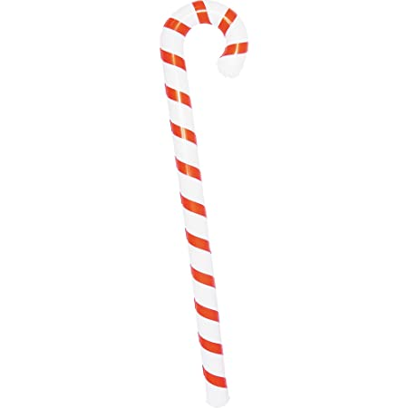 christmas shop inflatable christmas candy cane one size redwhite - Candy Cane Christmas Shop