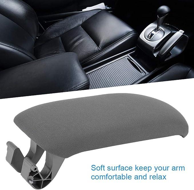 MeterMall Accesorios de Coche Consola Central Apoyabrazos Cubierta de Labios Tapa del reposabrazos de Cuero Negro para Audi A4 B6 B7 02-07 Accesorios para el autom/¨/®vil Beige