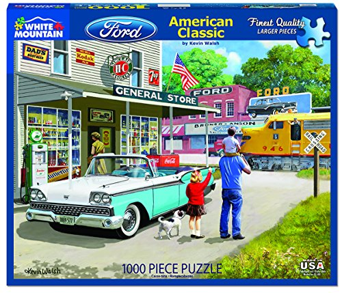 White Mountain Puzzles American Classics - 1000 Piece Jigsaw Puzzle