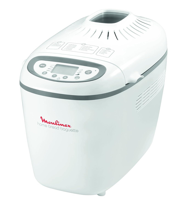 Moulinex OW 610100 - Máquina para hacer pan (1650 W): Amazon.es: Hogar