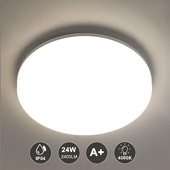 lampara led cocina redonda