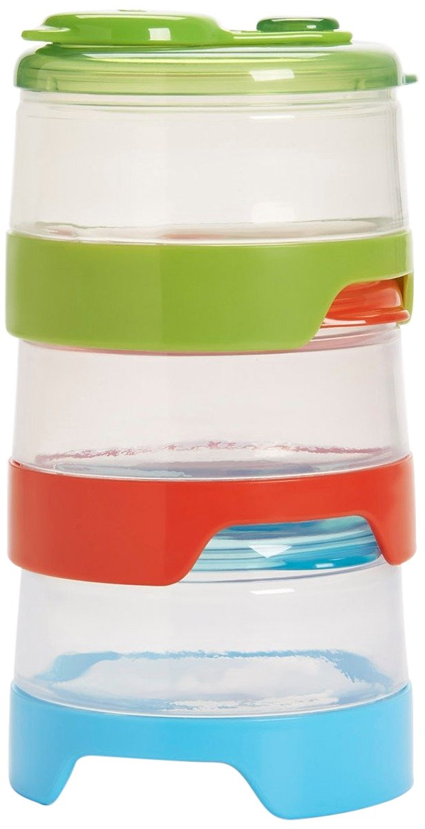 Oxo Tot 6 Piece Stackable Formula Containers Set (3 Pack) 6134200