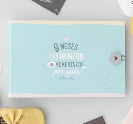 Álbum del embarazo de Mr. Wonderful
