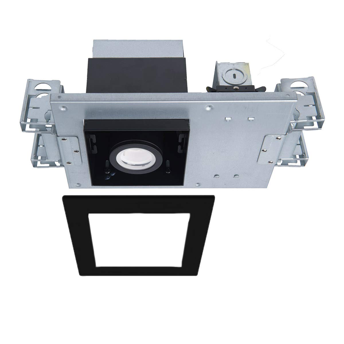 【驚きの値段で】 WAC Lighting MT-4110T-927-BKBK Silo Lighting 複数のシングル構造IC定格気密ライトエンジンハウジング&LED WAC MT-4110T-927-BKBK、ブラック B07HGVY2KQ, フラワーショップ ラ フランス:f6b2fec3 --- a0267596.xsph.ru