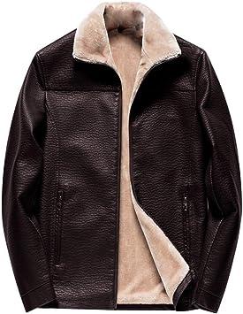 メンズレザージャケット、ラペルジップライニングは、休日のパーティースポーツの外出のための綿屋外カジュアルトレンチコートを追加