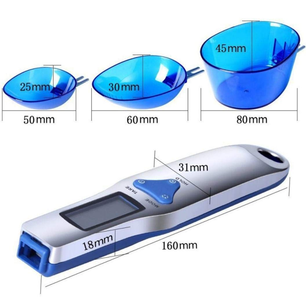 Digital Scale,LtrottedJ Precision Digital Scales, for Gold Jewelry Weight Electronic Scale Spoon Scale