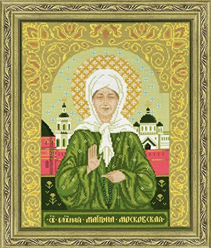 1385 icon blessed matrona moscow