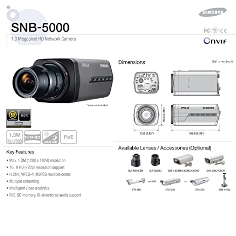 SAMSUNG SNB-5000 NETWORK CAMERA DRIVERS FOR WINDOWS 7
