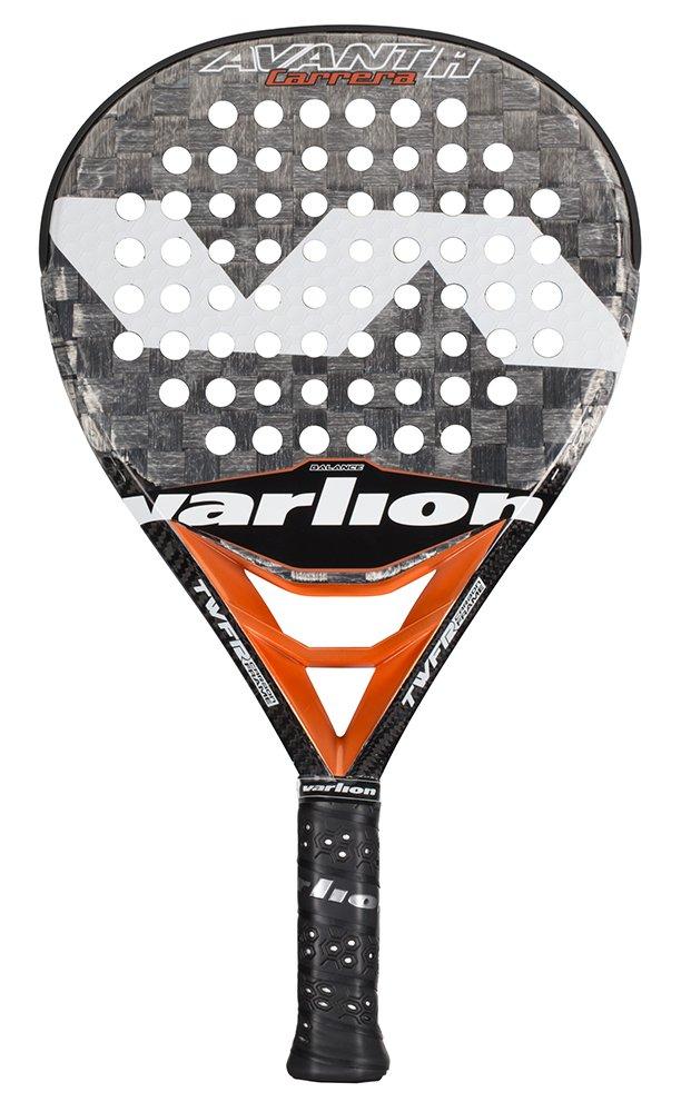 VARLION Avant H Carbon Carrera - Pala de pádel, Unisex Adulto, Gris/Salmón, 375-380 gr.: Amazon.es: Deportes y aire libre