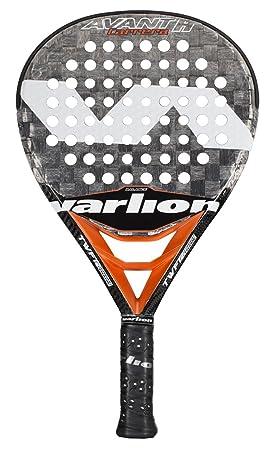 Varlion Avant H Carbon Carrera - Pala de pádel, Unisex Adulto, Gris/Salmón, 350-355 gr.: Amazon.es: Deportes y aire libre