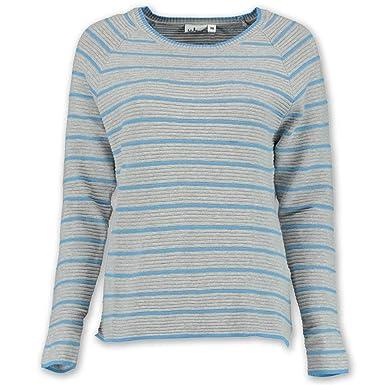 Damen Pullover mit schicken Streifen