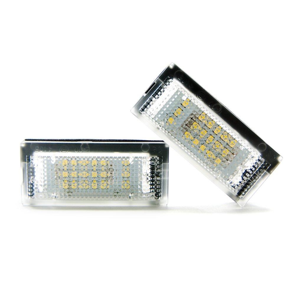 2 x LED Kennzeichenbeleuchtung Leuchte Xenon Kennzeichen Licht 6000K Limastar