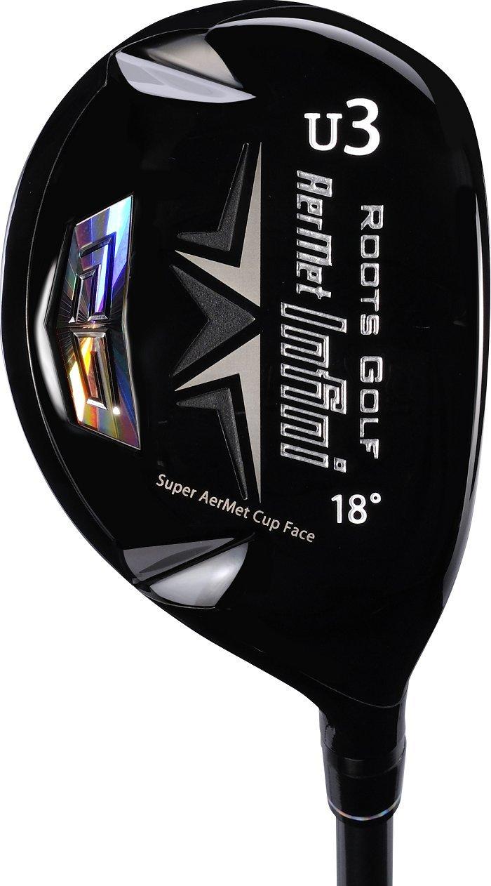 Roots Golf(ルーツゴルフ) ユーティリティ アーメットInfiniユーティリティ U3(18°) カーボン メンズ Infini-ut-U3-SR 右 ロフト角:18度 番手:U3 フレックス:SR B07B916392