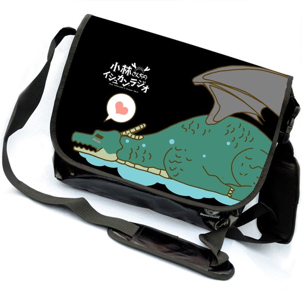 YOYOSHome Miss Kobayashi's Dragon Maid Anime Cosplay Backpack Messenger Bag Shoulder Bag (4)