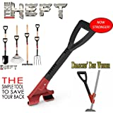 The Heft Plus Secondary Back Saver Handle for Snow Shovels and Garden Tools as Seen on Dragon's Den (Canada Shark Tank) (1 ct., Standard)