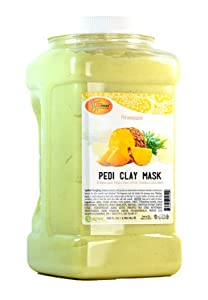 Spa Redi Pedi Clay Mask (Pineapple, 1 Gallon)