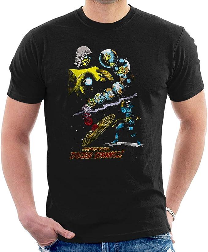 Marvel Comics Man Called Doctor Strange Manga Corta De Los Hombres Camiseta Negro X-Large: Amazon.es: Ropa y accesorios