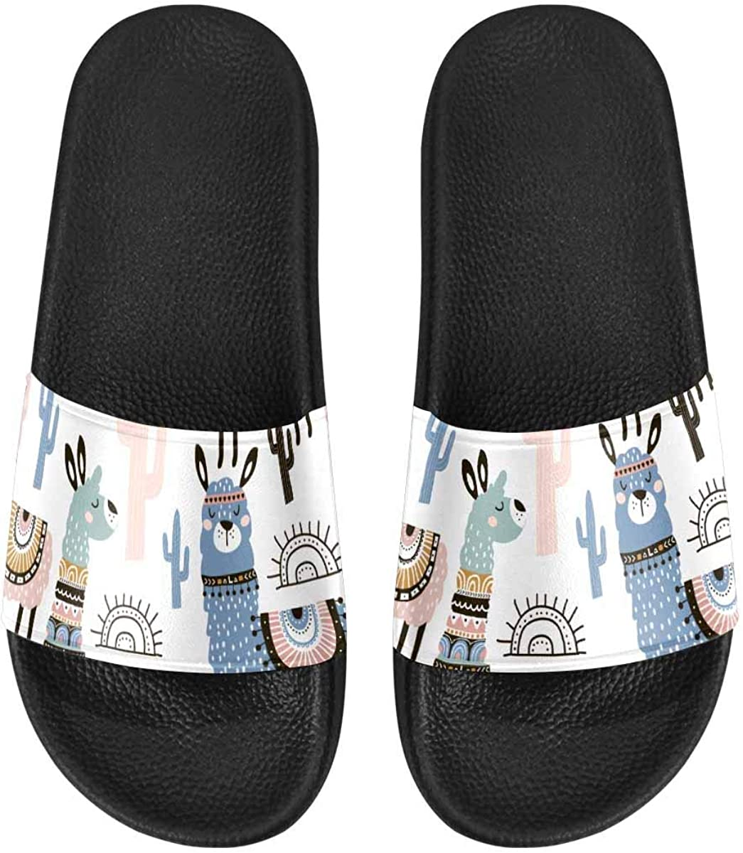 InterestPrint Indoor Outdoor Women's Casual Sandals US6-US12