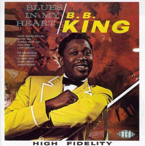 CD : B.B. King - Blues In My Heart (United Kingdom - Import)