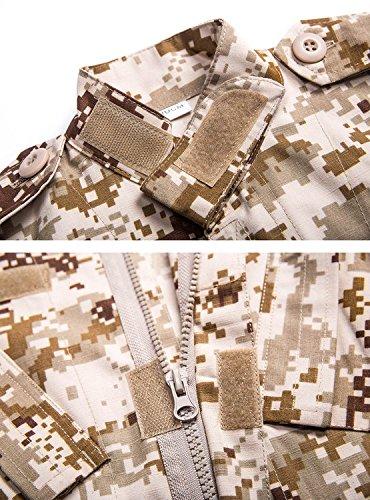 H World Shopping H Welt EU Tactical Airsoft Kinder Kleidung Kinder BDU Jagd Milit/är Camouflage Combat Uniform Anzug Jacke Shirt /& Hosen AOR1, 160