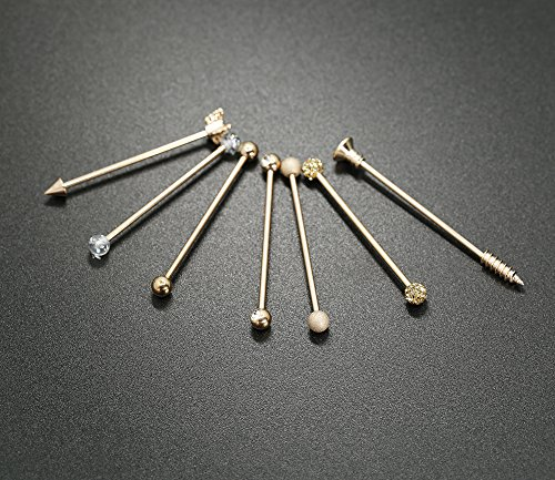 Buy piercing industrial men