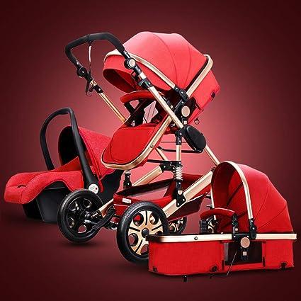 GAOYY 3 En 1 Plegable Sillas De Paseo Compacta Ajustable Stroller ...