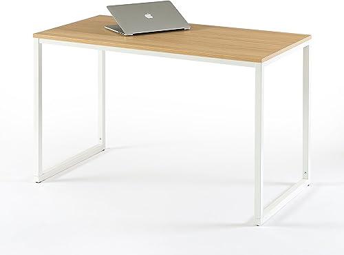 Zinus Jennifer Modern Studio Collection Soho Desk Table Computer Table, White